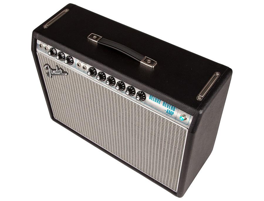 Fender 68 custom deluxe reverb guitar amplifier 02 xl