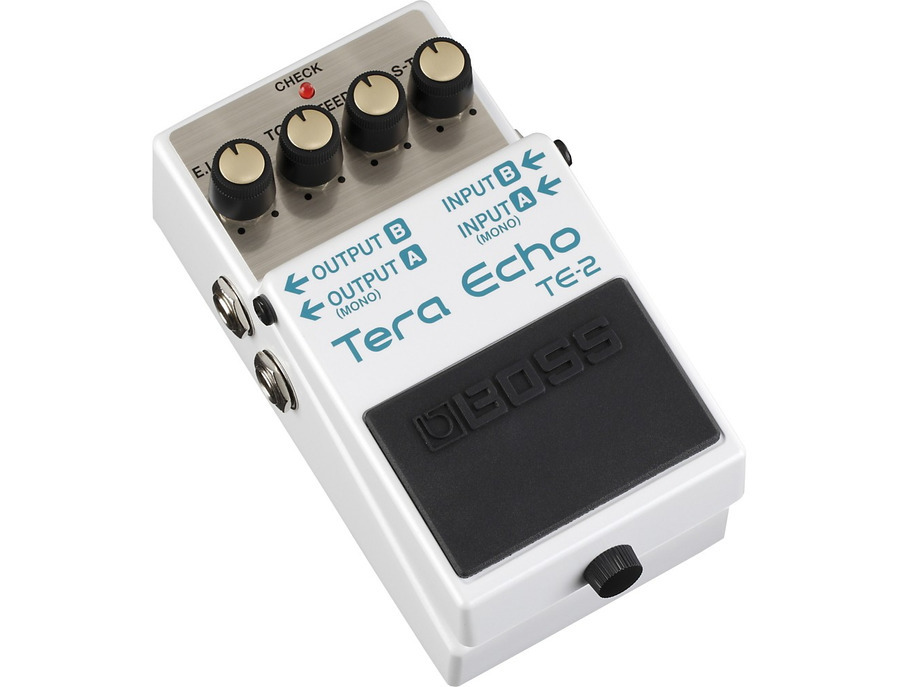 Boss te 2 tera echo guitar effects pedal 02 xl