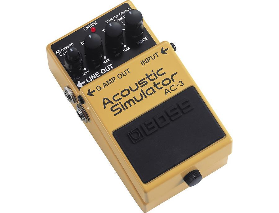 Boss ac 3 acoustic simulator guitar effects pedal 00 xl