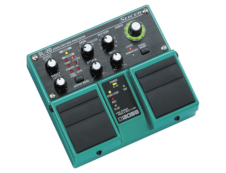 Boss sl 20 slicer twin pedal 01 xl