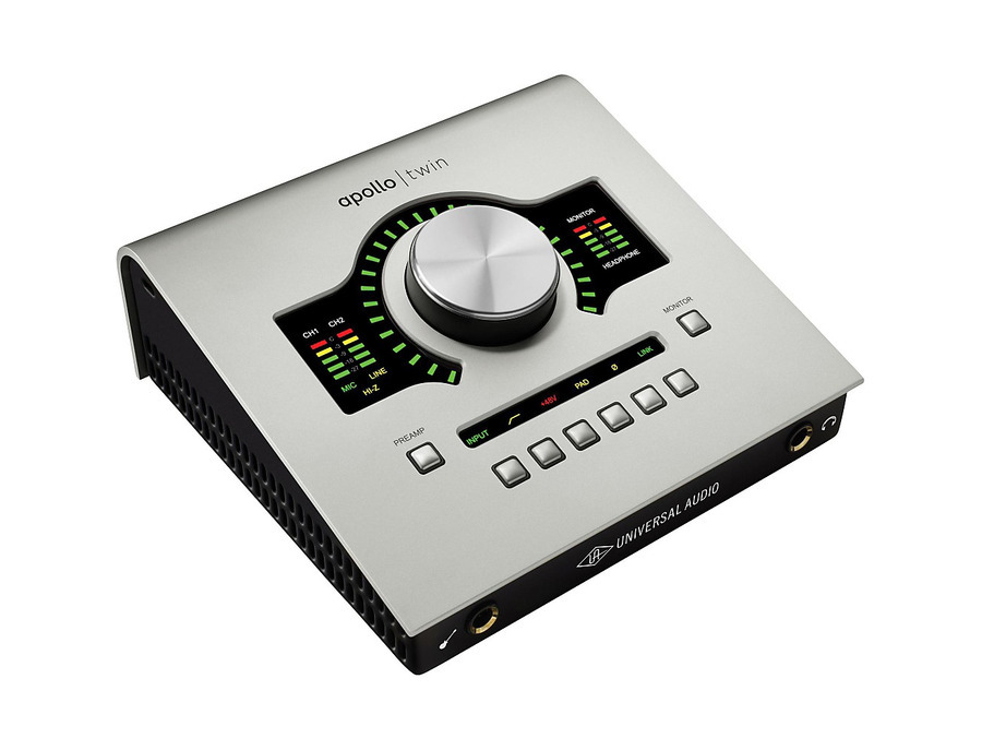 Universal audio apollo twin high resolution interface with realtime uad processing 01 xl