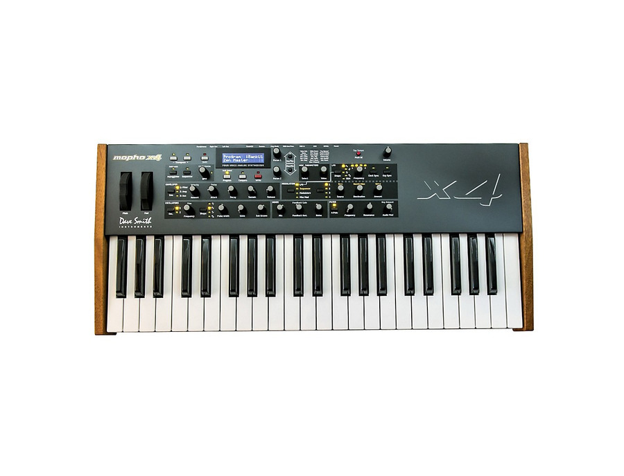 Dave smith instruments mopho x4 synthesizer keyboard 00 xl