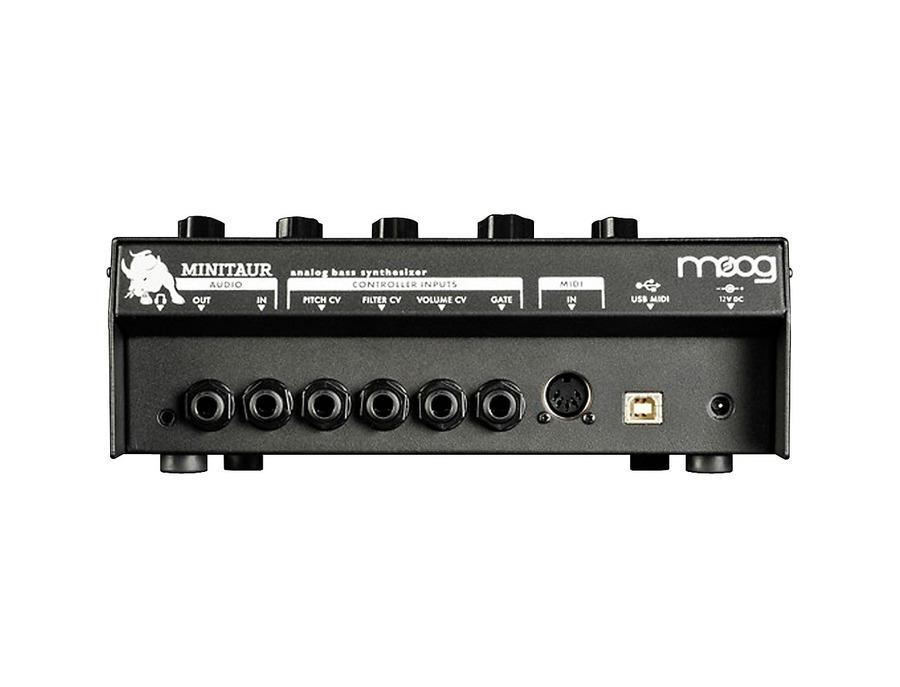 Moog minitaur analog bass synthesizer 01 xl