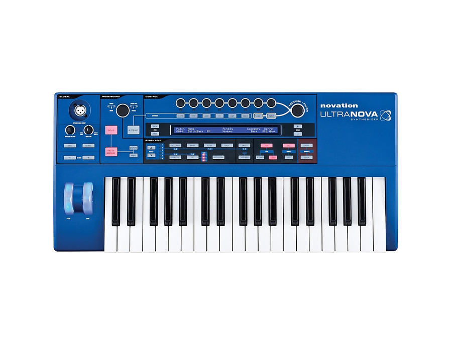 Novation ultranova synthesizer 02 xl