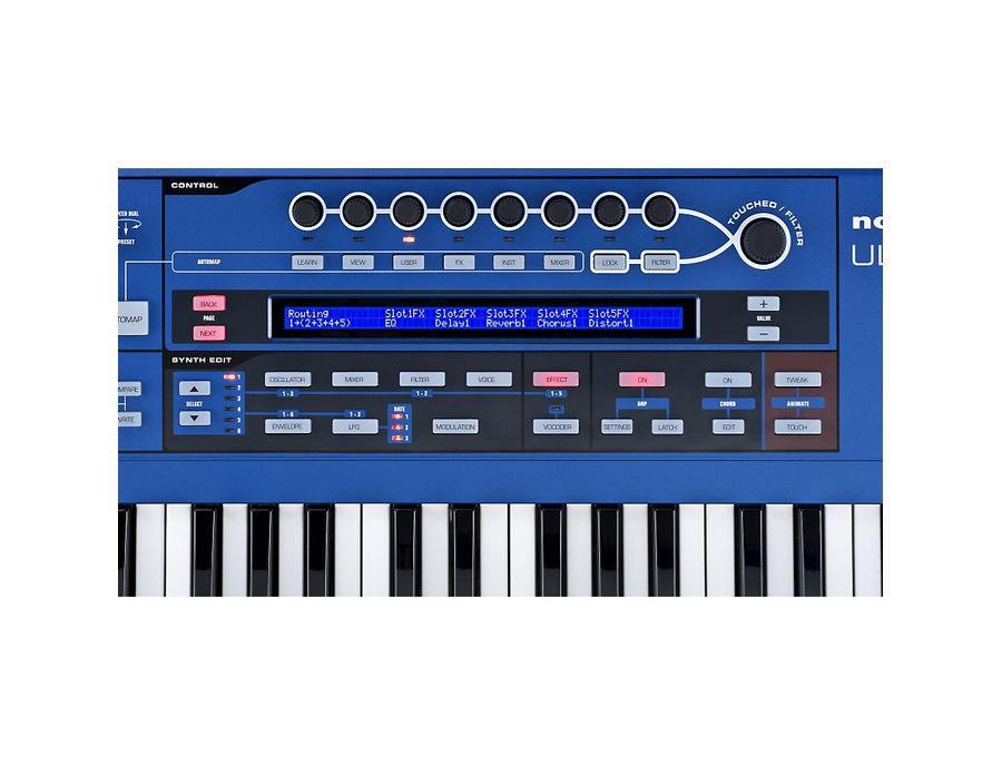 Novation ultranova synthesizer 03 xl