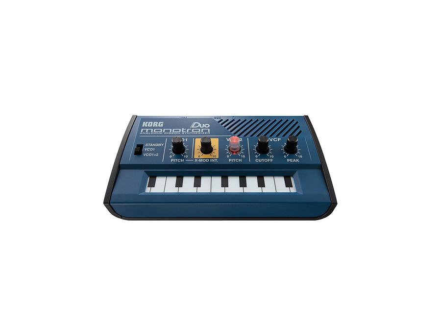 Korg monotron duo aanalog ribbon synthesizer 00 xl