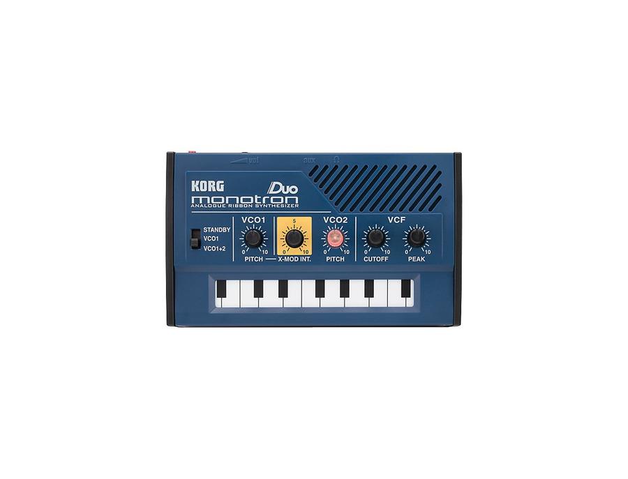 Korg monotron duo aanalog ribbon synthesizer 01 xl