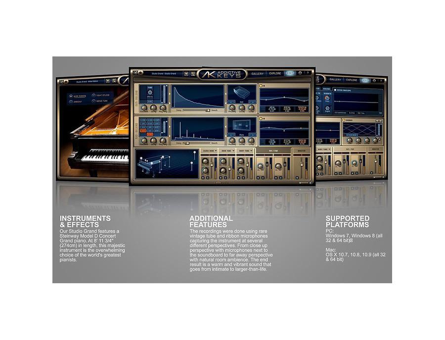 Xln audio addictive keys studio grand 00 xl
