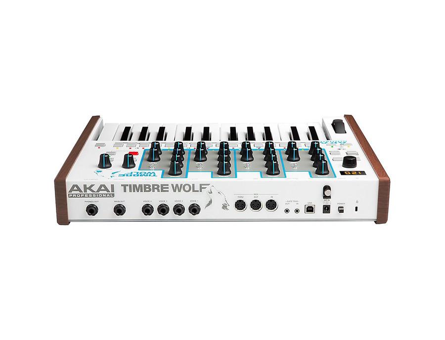 Akai timbre wolf analog polyphonic synthesizer 00 xl