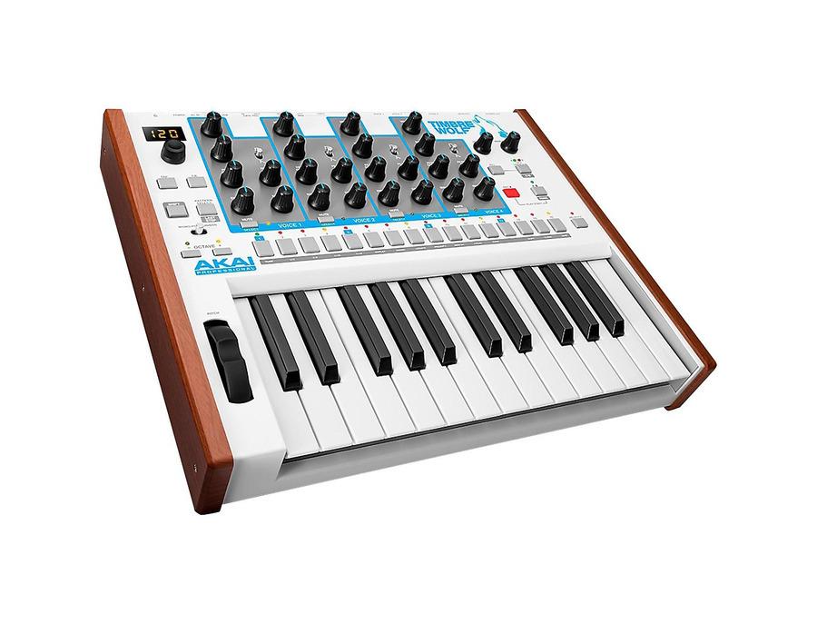 Akai timbre wolf analog polyphonic synthesizer 01 xl