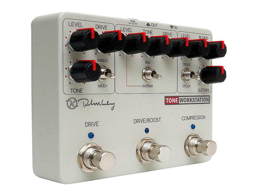 Keeley tone workstation overdrive guitar pedal 01 xl