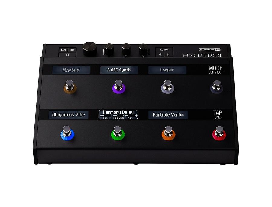 Line 6 hx effects guitar multi effects floor processor 02 xl