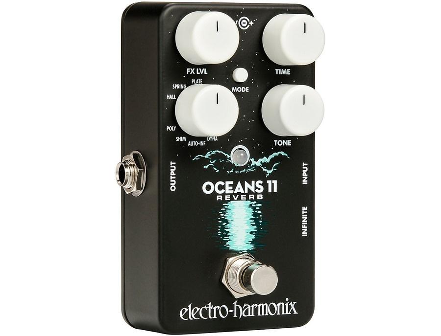 Electro harmonix oceans 11 multifunction digital reverb effects pedal 00 xl