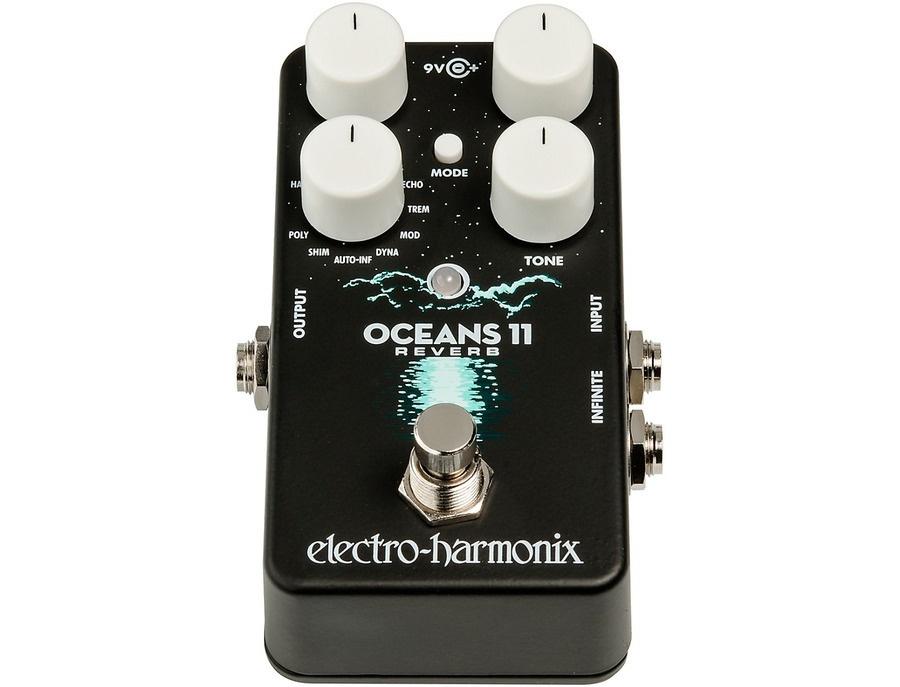 Electro harmonix oceans 11 multifunction digital reverb effects pedal 01 xl