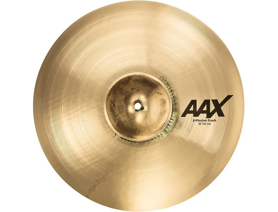 Sabian 18 aax x plosion crash 00 xl