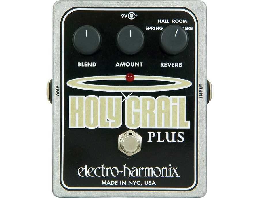 Electro harmonix xo holy grail plus variable reverb guitar effects pedal 01 xl