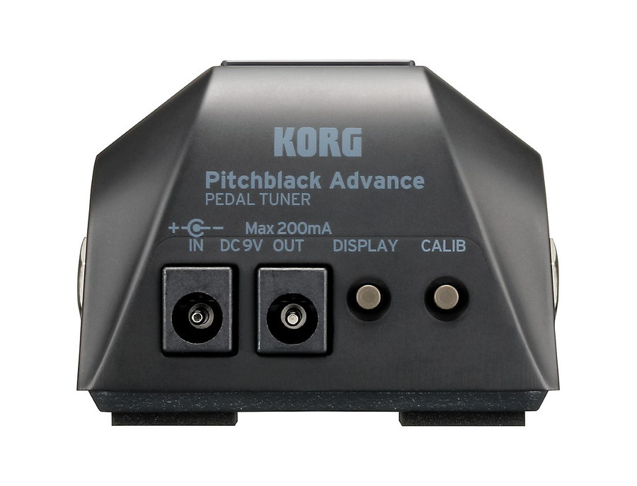 Korg pitchblack advance tuner pedal 01 xl