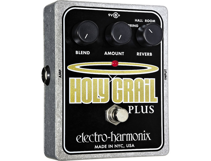Electro harmonix xo holy grail plus variable reverb guitar effects pedal 02 xl