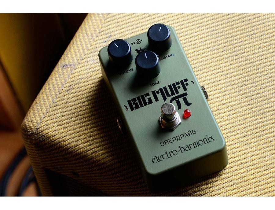 Electro harmonix green russian big muff reissue 04 xl