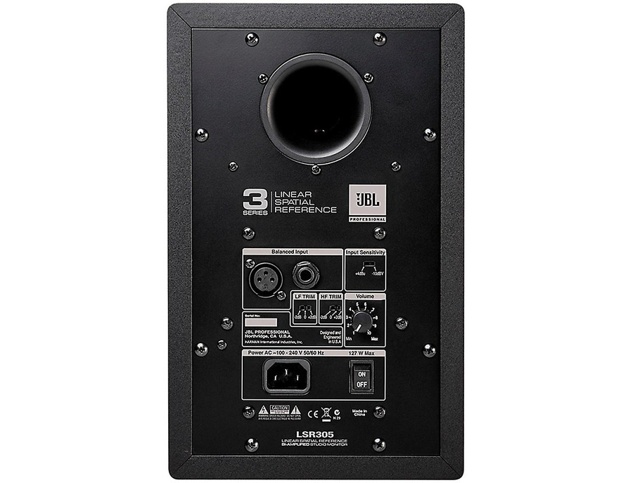 Jbl lsr305 two way active studio monitors 00 xl