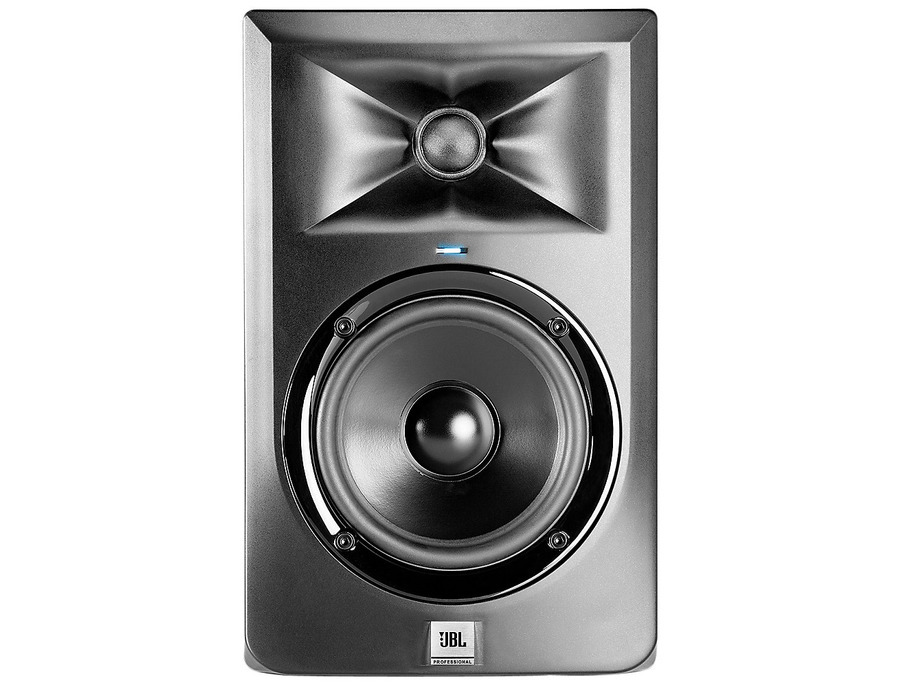 Jbl lsr305 two way active studio monitors 01 xl