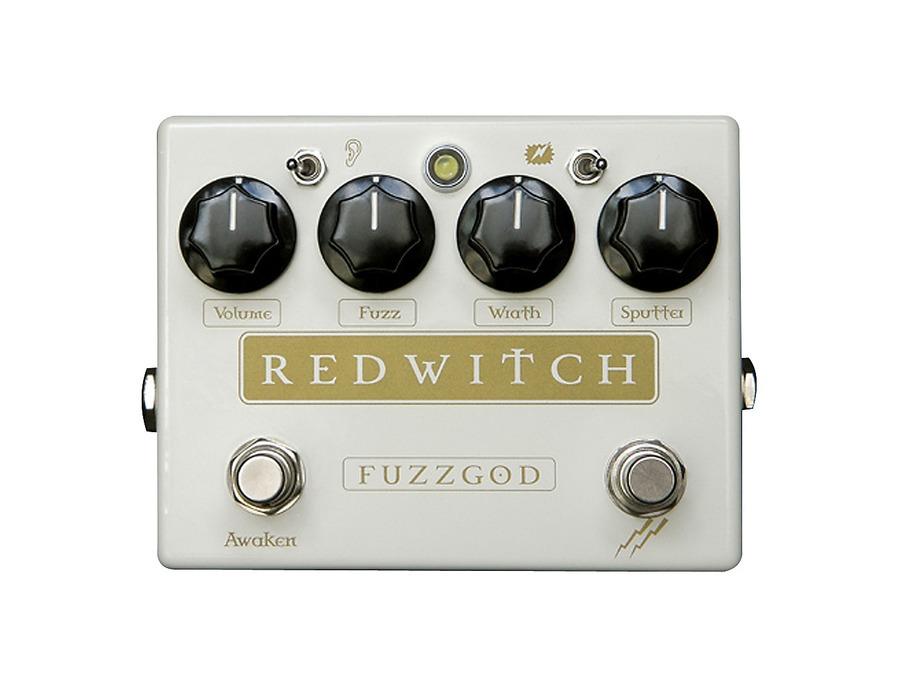 Red witch fuzz god ii pedal 01 xl