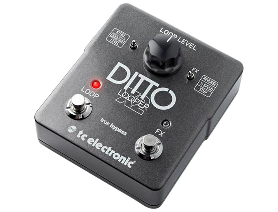 Tc electronic ditto x2 looper effects pedal 01 xl