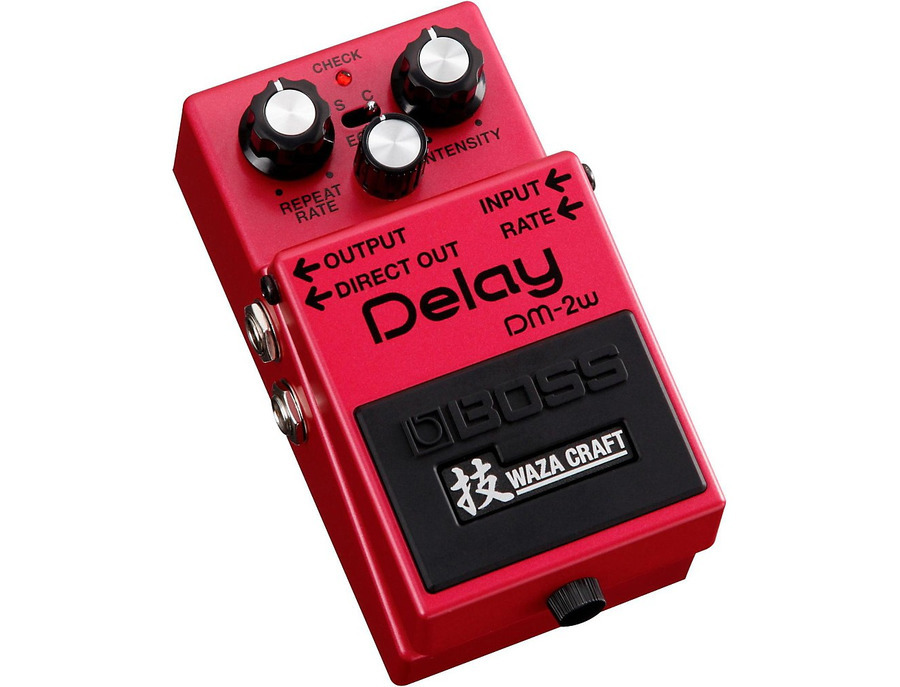 Boss dm 2w waza craft delay pedal 00 xl