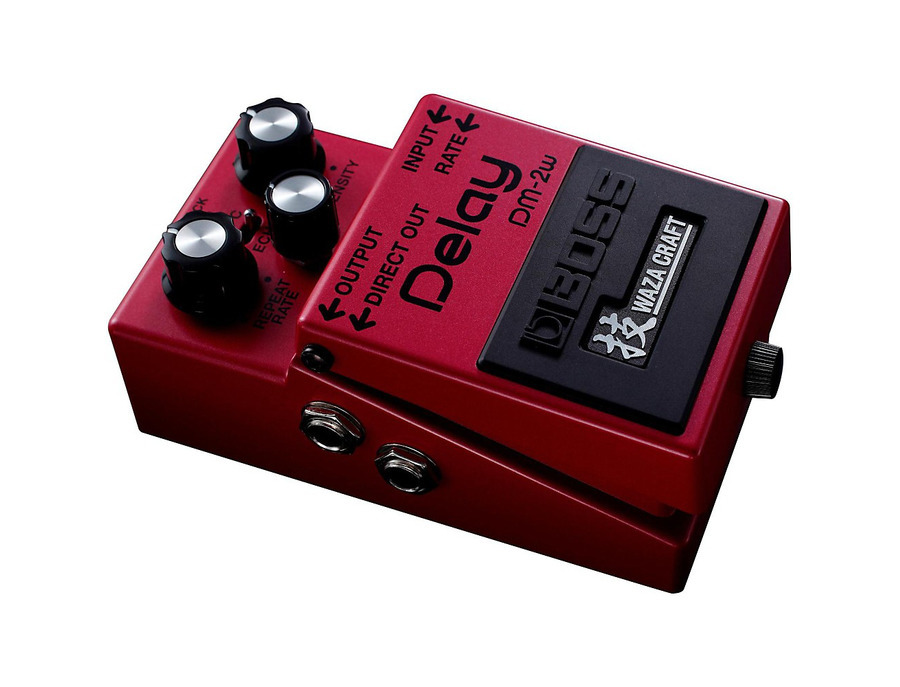 Boss dm 2w waza craft delay pedal 01 xl