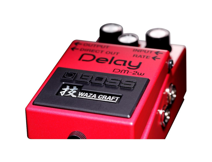 Boss dm 2w waza craft delay pedal 03 xl