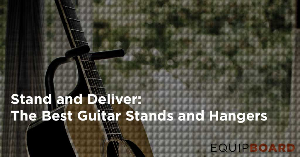 5 Best Guitar Stands and Hangers