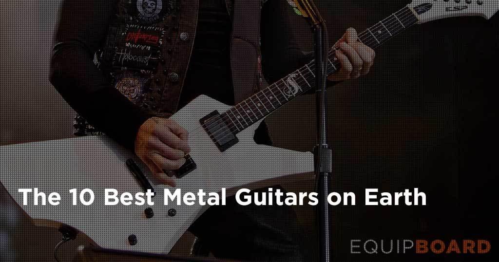 10 best guitars for metal gear guide 2019 equipboard. Black Bedroom Furniture Sets. Home Design Ideas