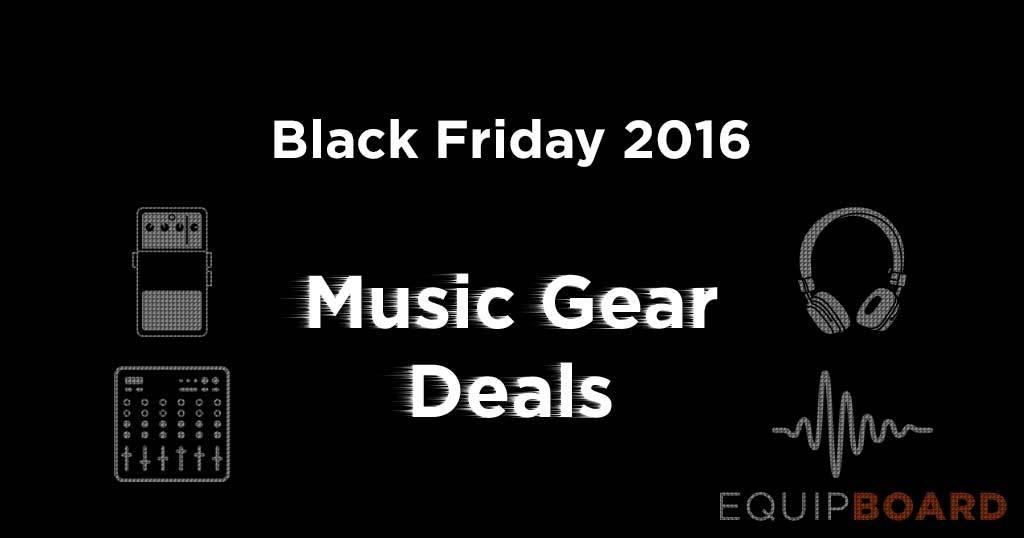 black friday music gear deals equipboard. Black Bedroom Furniture Sets. Home Design Ideas
