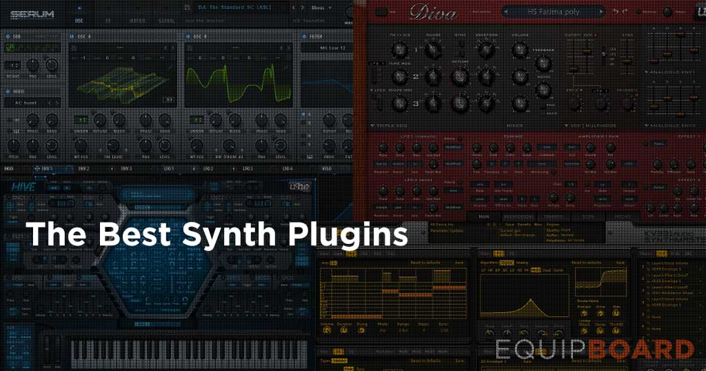 5 Best VST Synths: Top In the Box Options [2019] | Equipboard®