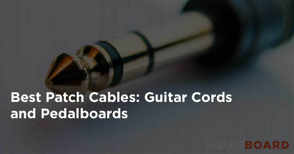Guitar Patch Cables