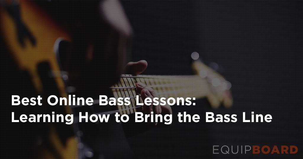 Best Online Bass Guitar Lessons