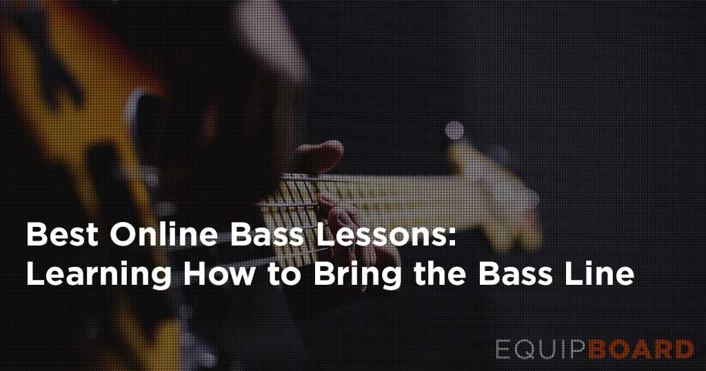3 Best Online Bass Guitar Lessons