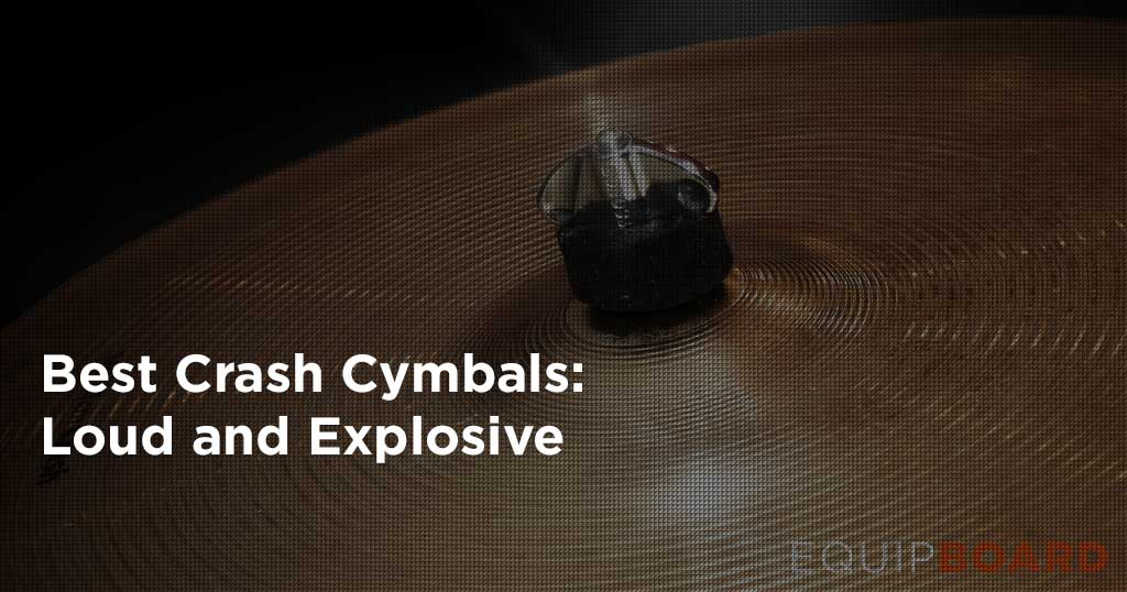 5 Best Crash Cymbals