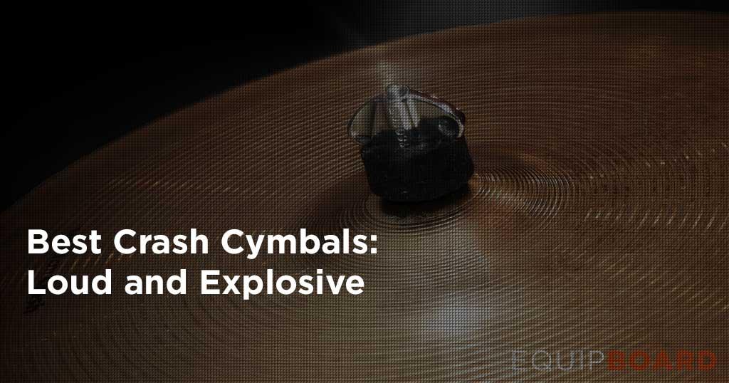 5 Best Crash Cymbals