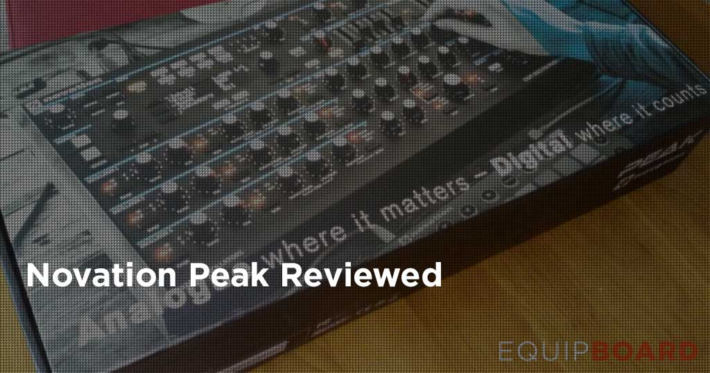 Novation Peak Review