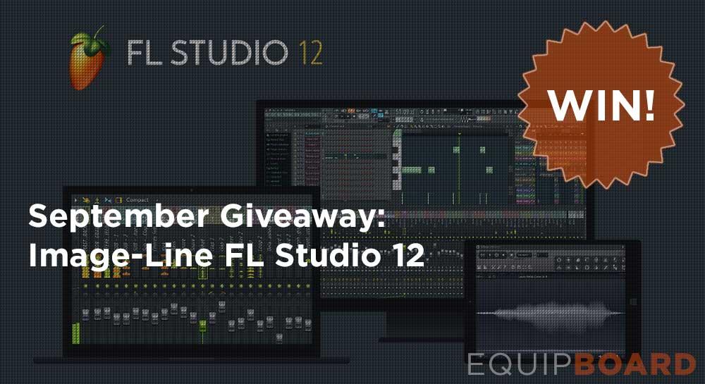 September Giveaway: Image-Line FL Studio 12