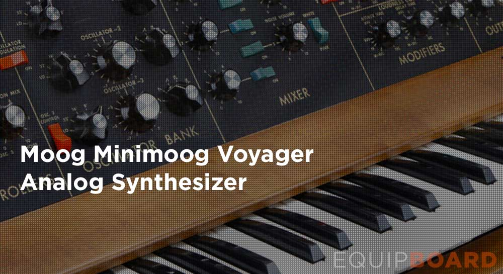 Moog Minimoog Voyager Analog Synthesizer