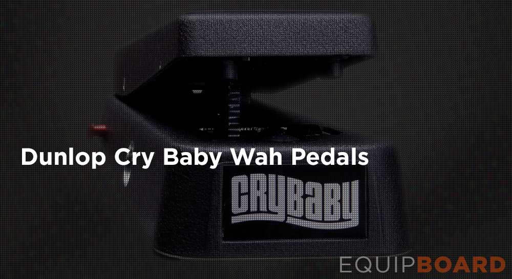Dunlop Cry Baby Wah Pedals