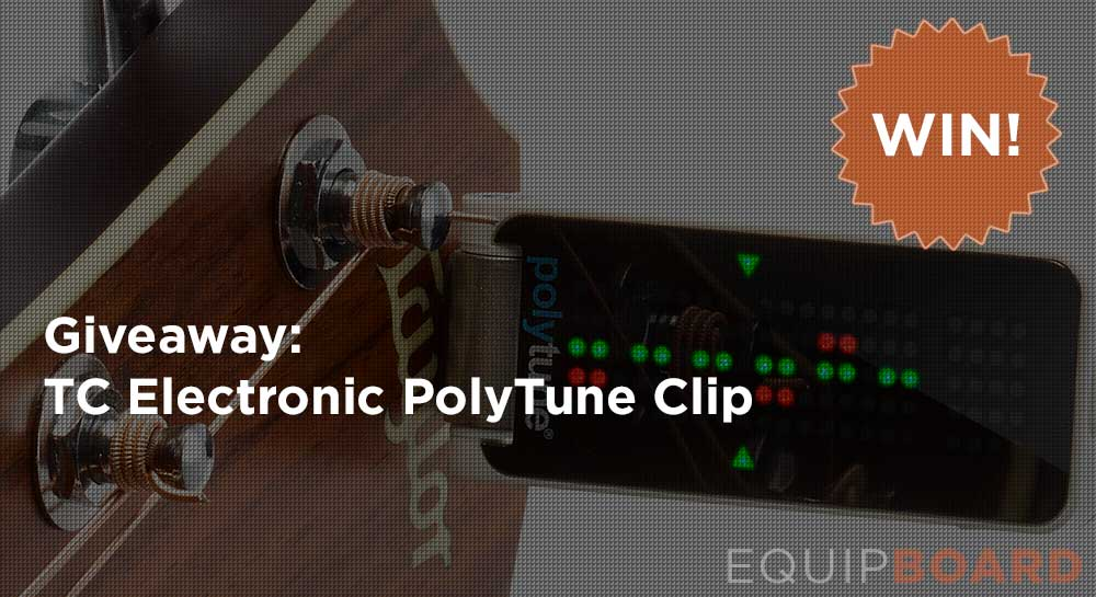 Giveaway: TC Electronic PolyTune Clip