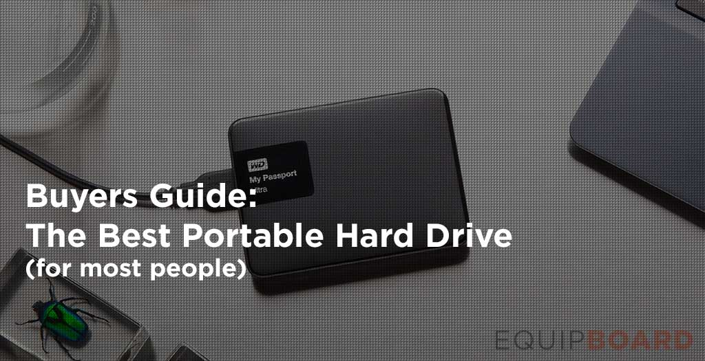 5 Best Portable External Hard Drives