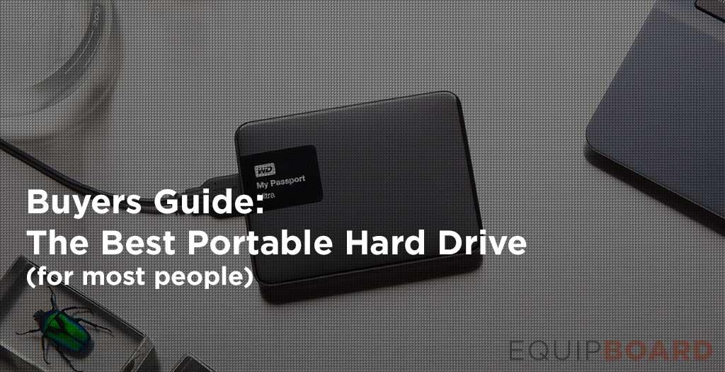 Best Portable External Hard Drive