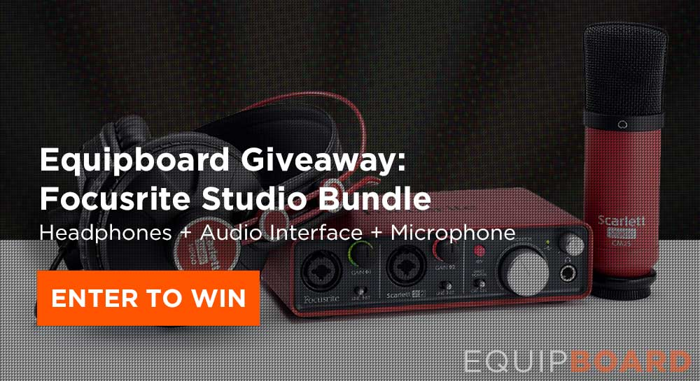 Giveaway: Focusrite Scarlett 2i2 Studio Bundle