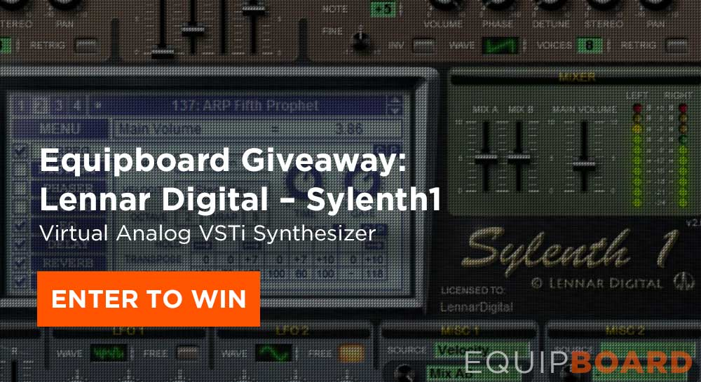 Giveaway: Lennar Digital Sylenth1