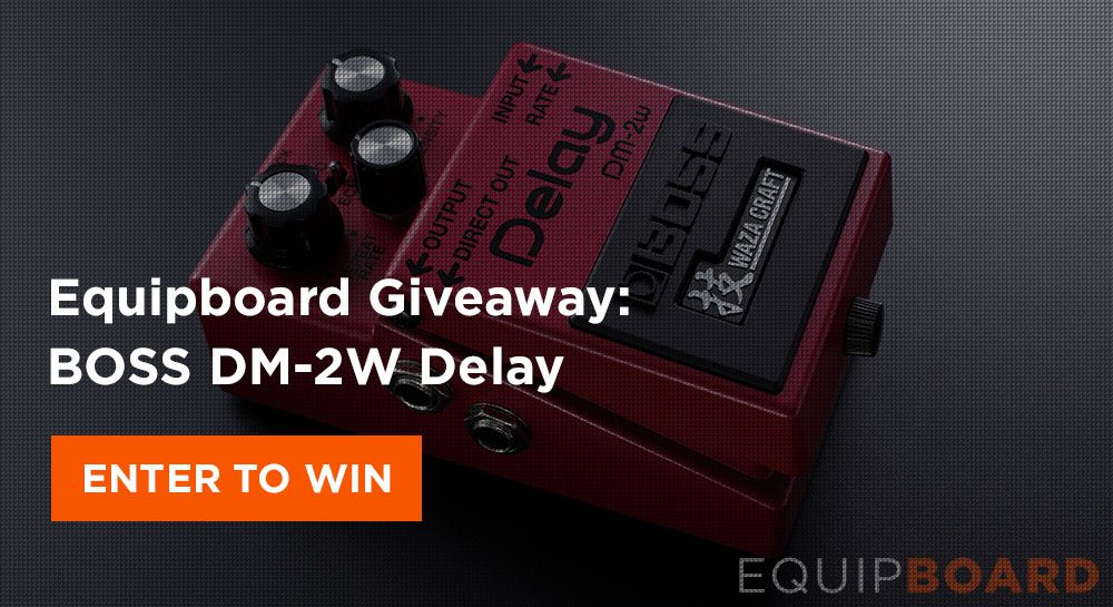 Giveaway: BOSS DM-2W Delay Pedal