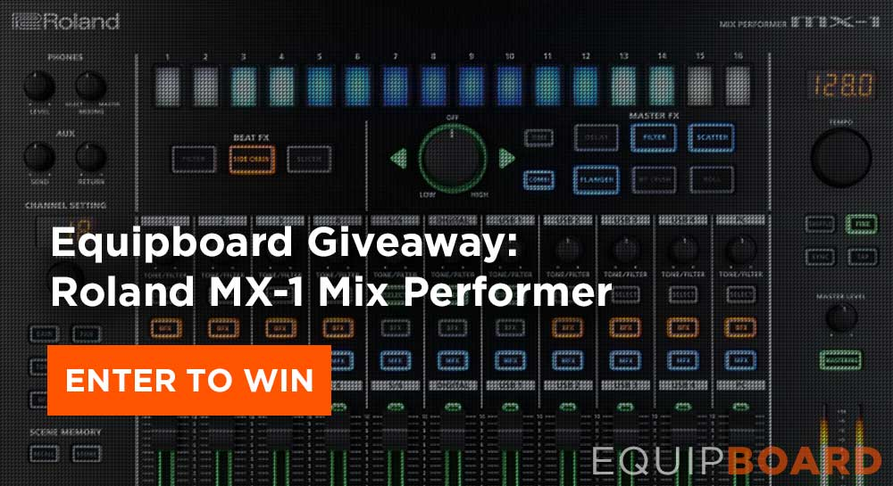 Giveaway: Roland MX-1 Mix Performer